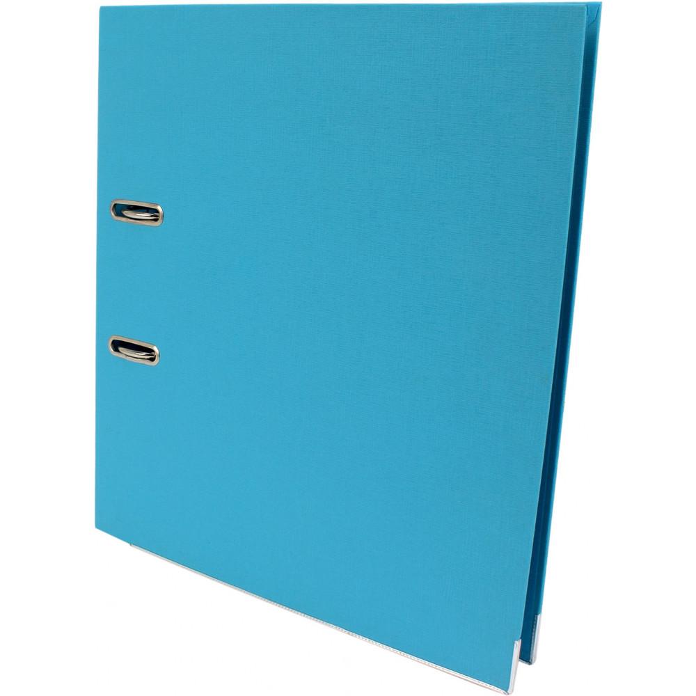 Папка-регистратор А4 Delta by Axent PP 5 см двусторонняя разобраная светло-голубая (1) (10) (50) №1711-29