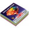 Блок для заміток неклеєний 85х85 мм 300 аркушів веселка Crystal (32) (40) 0773