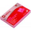 Блок для заміток з липким шаром 75х50 мм 100 аркушів неоновий малиновий Optima (12) O25512-47