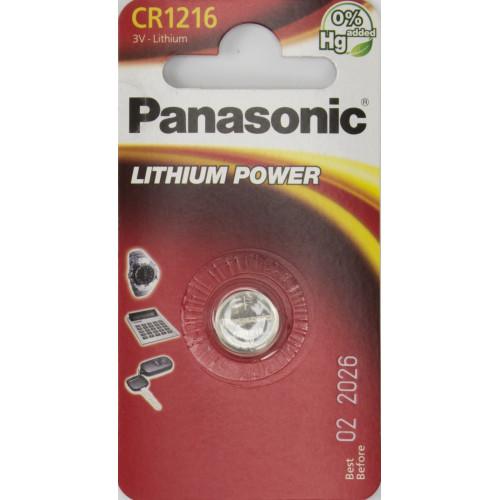 Батарейка Panasonic CR1216/1bl (12)