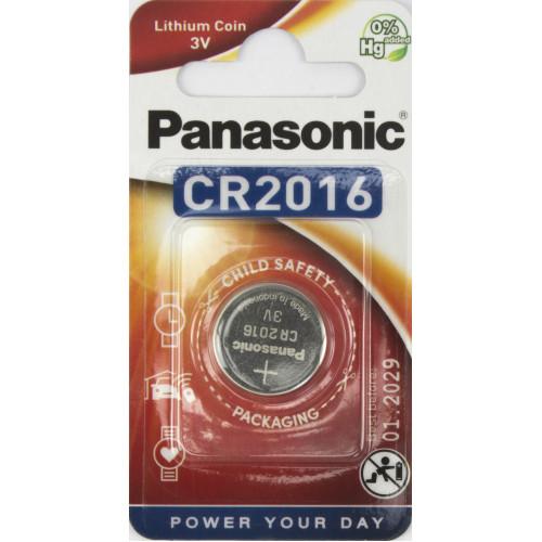 Батарейка Panasonic CR2016/1bl 3V lithium