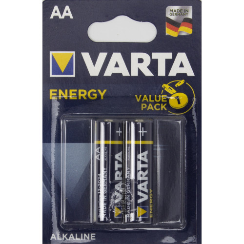 Батарейки Varta energy LR-06 блистер 2 шт (20)