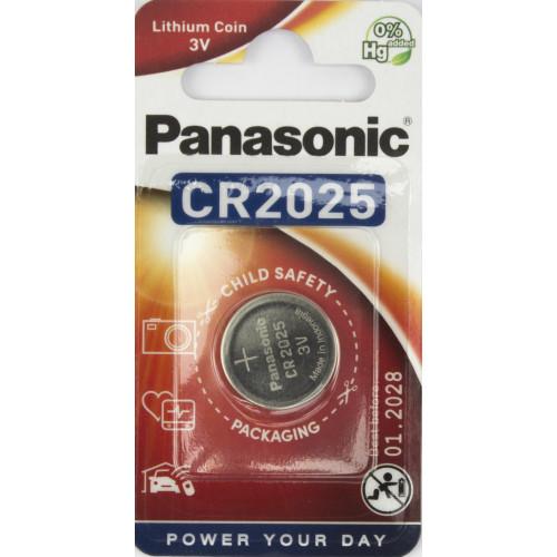 Батарейка Panasonic CR2025/1bl 3V lithium (12)