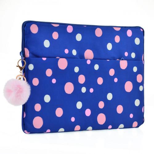 Чехол для ноутбука Yes Confetti 1 отделение, 1 карман синий №557821