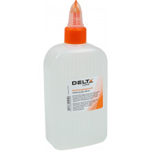 Клей канцелярський Axent/Delta 200мл ковпачок-дозатор (1) (65) №7223