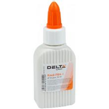 Клей ПВА Axent/Delta D7121 50мл колпачок-дозатор (1) (80) №D7121
