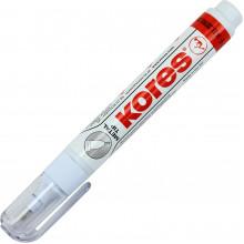 Корректор-ручка металлический наконечник Kores 10мл (12) №K83301