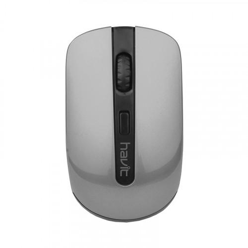 Мышка беспроводная Havit HV-MS989GT Wireless USB black/silver №0700