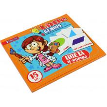 Набір дитячих карток Кольори і форми 951303 15 шт.