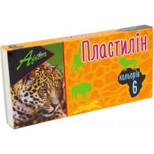 Пластилин 6 цветов 120 гр Economix Africa (24) №E60606