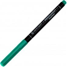Маркер Centropen Permanent 1мм зеленый (12) (240) №2536