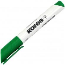 Маркер Kores 1-3 мм для доски зеленый (12) №K20835