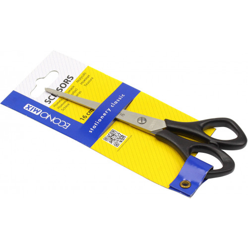 Ножиці офісні Economix 16см (12) (144) №E40412