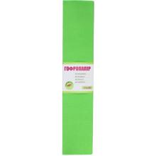 Папір гофра 2мх50 см 110% 42г/м2 1 Вересня салатовий (10) №701544