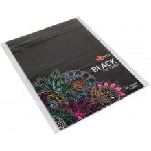 Папка для рисование А4 (10 листов / 150) черная №741151