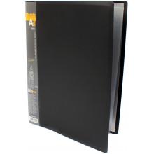 Папка з 10-ма файлами А4 Leo Класік чорна (1) (54) L5001-01/490481
