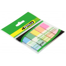 Розділювач сторінок 4 Office PP 5 кольорів по 20 аркушів 12х45 мм 4-427