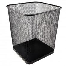 Корзина для бумаги Axent металлическая черная №2124-01