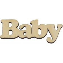 Заготовка фанера надпись Baby 6 см (5)