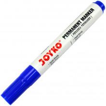 Маркер Joyko Permanent синій (12) PM-18