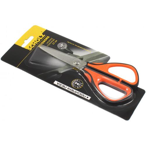 Ножиці офісні Scholz 17 см прорезинені ручки №4250
