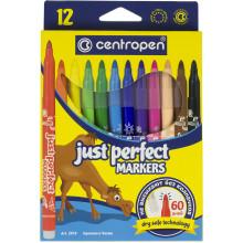 Фломастеры Centropen Perfect 2510/12 12 цветов (10) (170) №