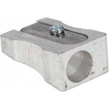 Точилка Kum 400-1K металлическая клиновидная с выемками (24) (1488) №400-1K