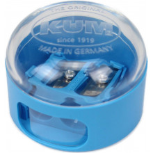 Точилка двойная с контейнером Kum пластиковая (12) (624) №208K2