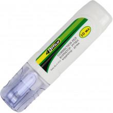 Корректор-ручка металлический наконечник 4Office 10мл 4-373