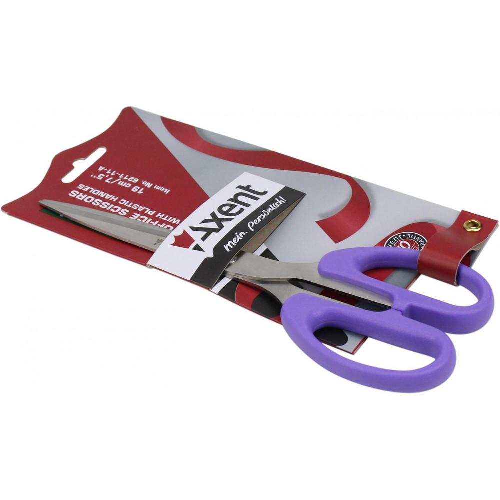Ножницы офисные Axent Ultra 19см фиолетовые 6211-11