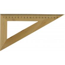 Треугольник деревянный 22см 60х90х30 (25) (50) №0311