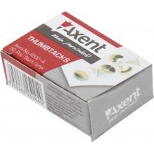 Кнопки Axent омедненные 50 шт (20) (1000) №4202