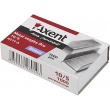 Скоби 10/5 Axent Pro 1000 шт (20) (1000) 4311