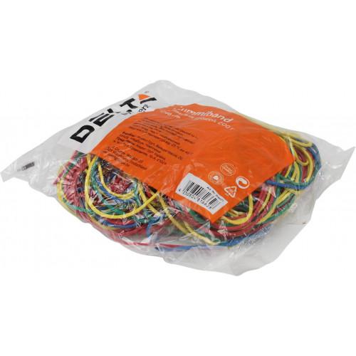 Резинка для грошей Delta by Axent d60мм 200г кольорова (50) (100) 4621