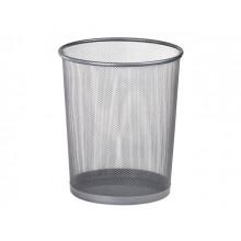 Кошик для паперу Leader металевий великий круглий сріблястий (20) Z015S/613350