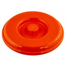 Крышка для ведра 5 л оранжевая Алеана (15) 122031/7586