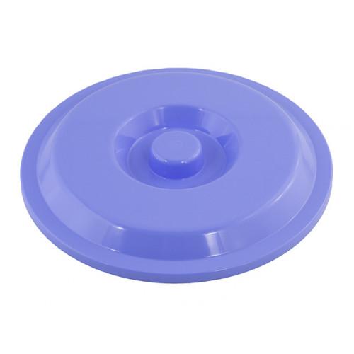 Крышка для ведра 8 л голубая Алеана (15) №122032/7623