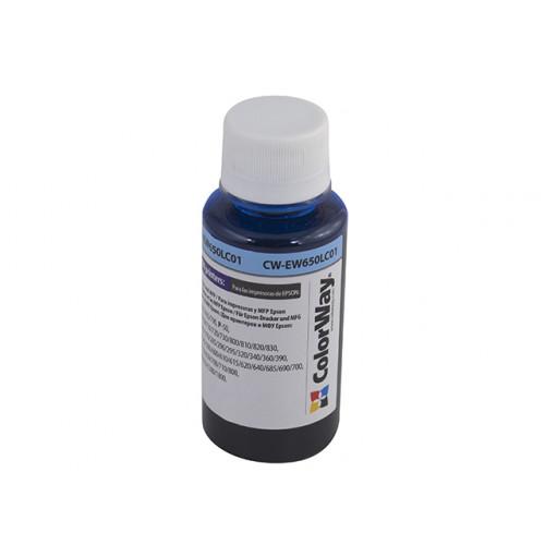 Чернила ColorWay Epson TX650/EW650LC 100 мл Ph. Cyan