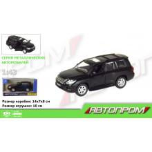 """Машина метал. """"Автопром""""Lexus LX570(matte black series)1:43,в кор-ці №7621/4304(48)(96) КІ"""