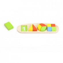 Сортер деревянный учебный Радуга Top Bright (12) №8788D/B