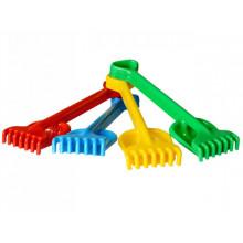 Песочный набор Гулливер Технокомп лопатка, грабли (1) (30) №1424