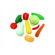 Набор Овощи 9 предметы в сетке 04-476