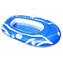 Надувная лодка Hydro-Force Raft 155х93 см, 1-местный 3 цвета (6) №61050