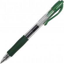 Ручка гелевая автоматическая Pilot G-2 0,5мм зеленая (12) №BL-G2-5-G