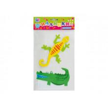 Наклейка для творчества 1 Вересня Ящерица и крокодил 951230 войлок