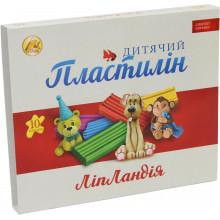 Пластилін 10 кольорів 200 гр Ліпландія/Пластіленд Тетрада (20)