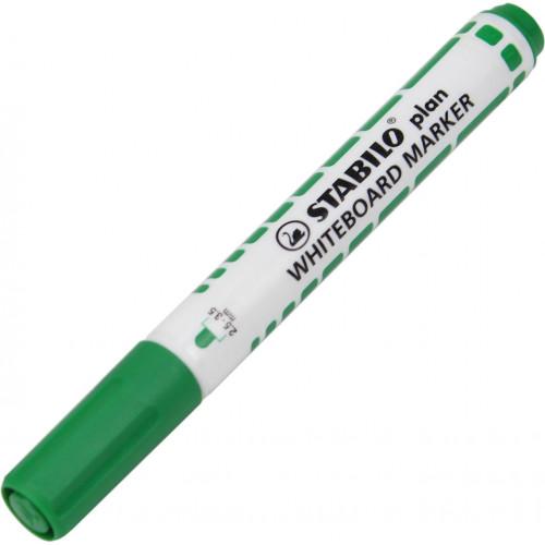 Маркер для дошки Stabilo Plan 641/36 зелений (10) №390316