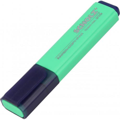 Текстмаркер Sсholz 1-5мм зелений (10) №210