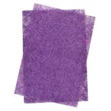 Набір сизалю з глітером 20х30 см 5 шт фіолетовий 741413
