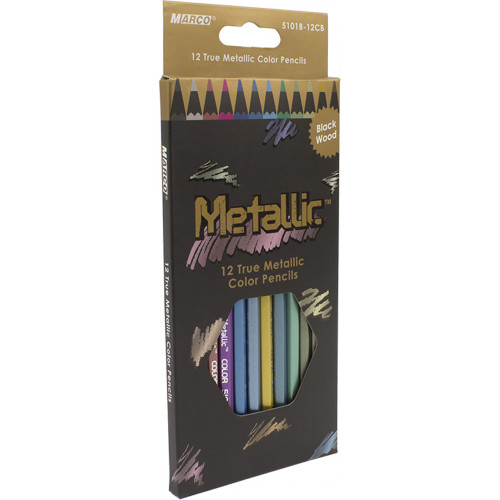 Олівці кольорові Marco 12 кольорів (12) (240) 5101B-12CB